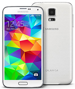 Galaxy S5 glasbyte
